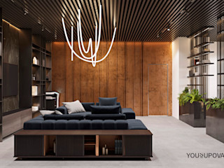 YOUSUPOVA Oficinas de estilo moderno