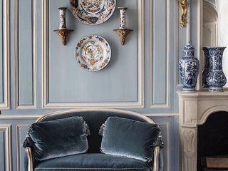 كاسل للإستشارات الهندسية وأعمال الديكور والتشطيبات العامة Living roomAccessories & decoration Copper/Bronze/Brass Black