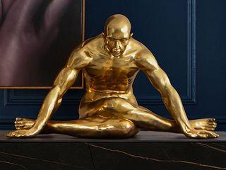 Intense mobiliário e interiores ArteSculture Argento / Oro Ambra/Oro