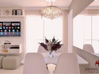 Wendely Barbosa - Designer de Interiores Modern Yemek Odası