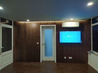 Home Recover Paredes y pisos de estilo moderno Acabado en madera