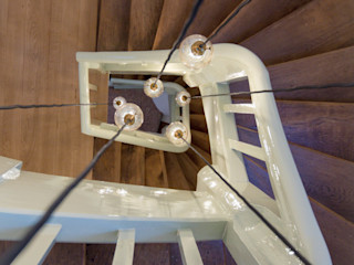 Haus EQM BPLUSARCHITEKTUR Treppe