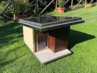 Cuccia di design da giardino - Ecologica Pet House Design® GiardinoAccessori & Decorazioni Legno Marrone