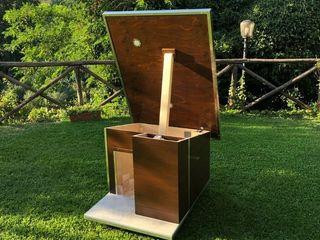 Cuccia di design da giardino - Ecologica Pet House Design® Casetta da giardino Legno Beige