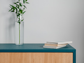 Casa ViVa manuarino architettura design comunicazione Camera da lettoArmadi & Cassettiere Legno Effetto legno
