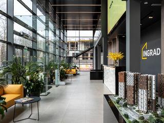 ООО 'Студио-ТА' Espaces de bureaux modernes Multicolore