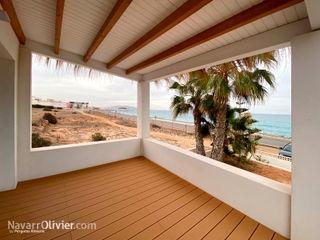 NavarrOlivier Balkon Kayu Wood effect