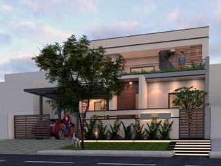 Ravi Prakash Architect Single family home Reinforced concrete White