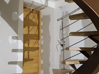 LBMS. Fabrice Lamouille Stairs Iron/Steel Brown