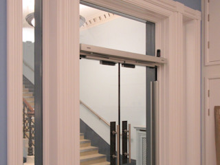 Automatic Glass Doors Ion Glass Minimalist museums Glass