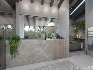 Sulkin Askenazi Salle de bain moderne