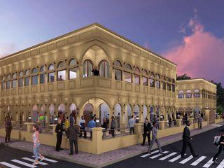 Ravi Prakash Architect Shopping Centres Reinforced concrete Amber/Gold