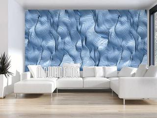 Elegante Tapeten Mowade Wände & BodenTapeten Blau