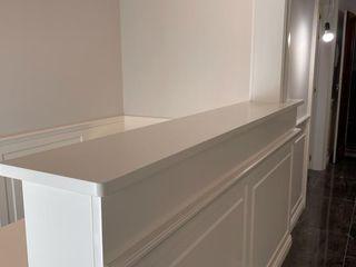 Falegnameria su misura Studeerkamer/kantoorKasten & planken Hout Wit