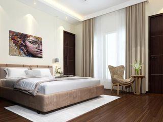 Paimaish Dormitorios pequeños Contrachapado Marrón