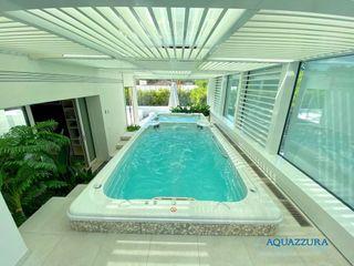 Jacuzzi® SwimSpa la piscina ideale per il nuoto controcorrente e non solo! Aquazzura Piscine Vasche idromassaggio