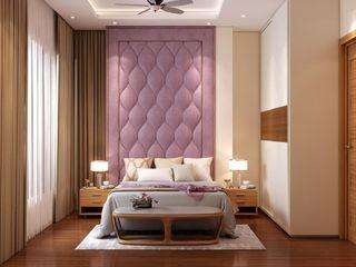 Paimaish Dormitorios pequeños Contrachapado Morado/Violeta