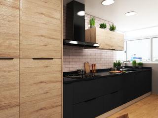 Un diseño diferente ZERMATT DECORACION S.L CocinaArmarios y estanterías Aglomerado Rosa