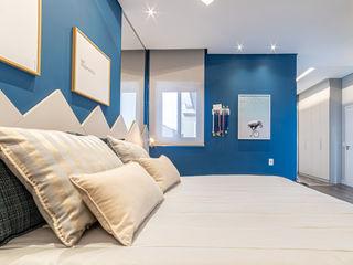 MoronCavallete - soluções em arquitetura Спальня в стиле модерн