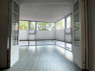 將陽光最美的時刻收藏起來|蜂巢簾 MSBT 幔室布緹 客廳 Grey