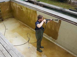 Reinigung / Sanierung Teichbau München