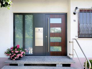 Karl Moll GmbH Portes d'entrée Bois composite Multicolore