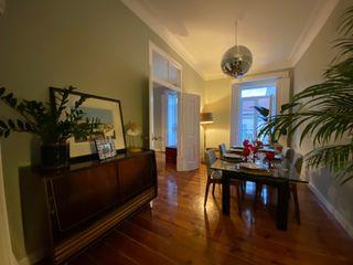 Home 'N Joy Remodelações Sala da pranzo in stile classico Verde