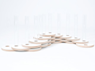 Dutch Duo Design Living roomAccessories & decoration Engineered Wood White