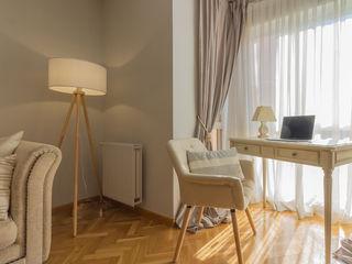 Proyecto Electra Lares Home Staging Salones de estilo clásico