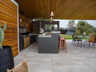 Decorar una veranda Alfa Forni JardínPérgolas, toldos e invernaderos
