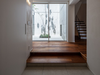 株式会社seki.design Couloir, entrée, escaliers modernes