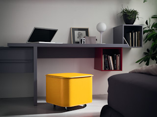 Limac Design Study/officeAccessories & decoration Leather Yellow