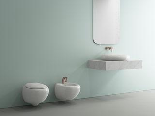 Domni.pl - Portal & Sklep Modern bathroom Ceramic Green