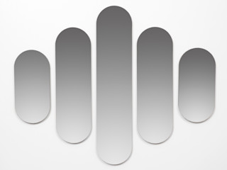 Dutch Duo Design Corridor, hallway & stairs Clothes hooks & stands MDF Transparent