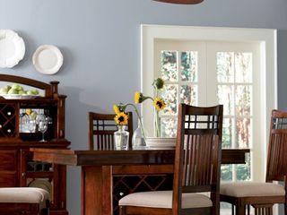 Casa Bruno American Home Decor Salle à manger classique Bois Marron