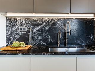 Proyecto de interiorismo y reforma integral , Barcelona Michele Mantovani Studio Cocinas integrales Mármol Multicolor