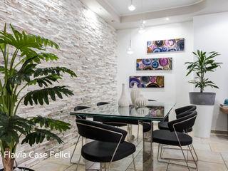 Flavia Case Felici 现代客厅設計點子、靈感 & 圖片