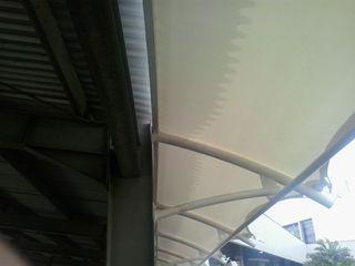 Fortuna Jaya Kreasi Tropische Bürogebäude Plastik Weiß