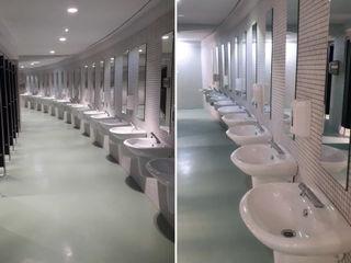 Super Bock Arena – Pavilhão Rosa Mota Padimat Design+Technic Casas de banho clássicas Cerâmica Branco
