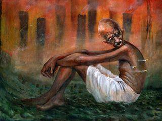 Indian Art Ideas ArteImagens e pinturas Papel Multi colorido