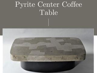 Stonesmiths - Redefining Stoneage ВітальняСтолики та лотки Камінь Металевий / срібло