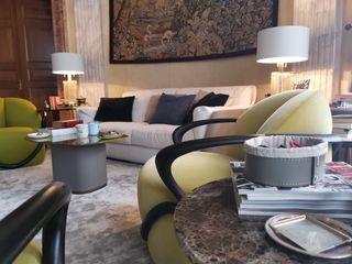 Limac Design Modern living room Grey