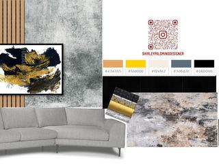Ambientación de Lobby Shirley Palomino Salas/RecibidoresAccesorios y decoración Fibra natural Gris