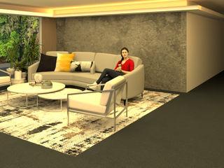 Ambientación de Lobby Shirley Palomino Salas/RecibidoresAccesorios y decoración Mármol Amarillo