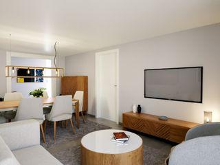 Madeira Negra Scandinavian style living room