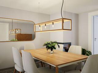 Madeira Negra Scandinavian style dining room