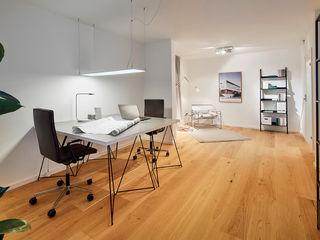 Home Staging Bavaria Study/officeDesks Kayu White