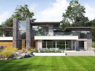 Country Residence in Royal Berkshire David James Architects & Partners Ltd Modern houses