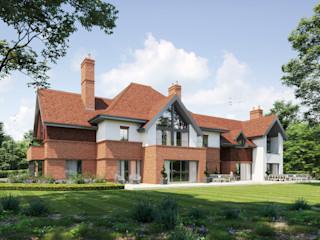 Substantial residences in Kent David James Architects & Partners Ltd Country style houses