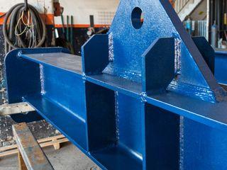 Bayrakcı Metal İnşaat Industrial style airports Iron/Steel Blue